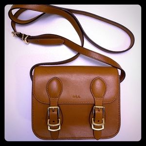 Ralph Lauren crossbody saddle bag